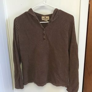 Women's Woolrich Sweater with Hood Size M